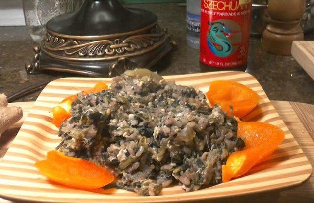 poke salad fried rice
