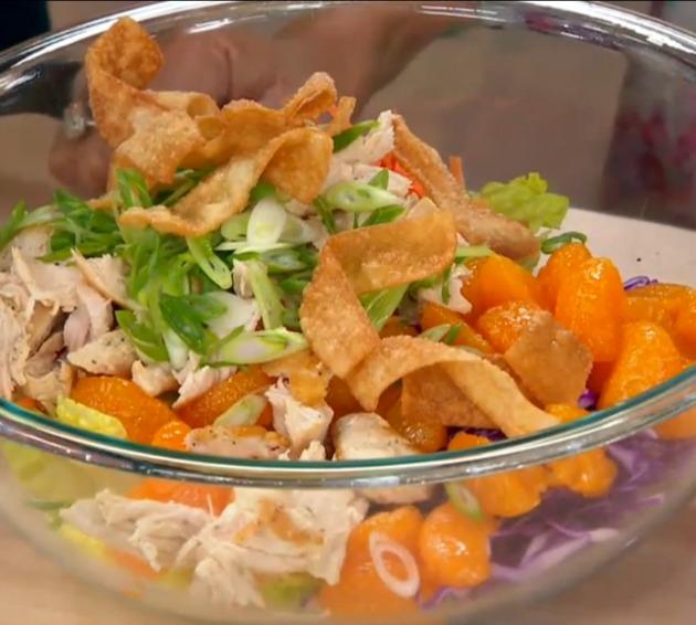 Chinese Chicken Salad With Mandarin Oranges