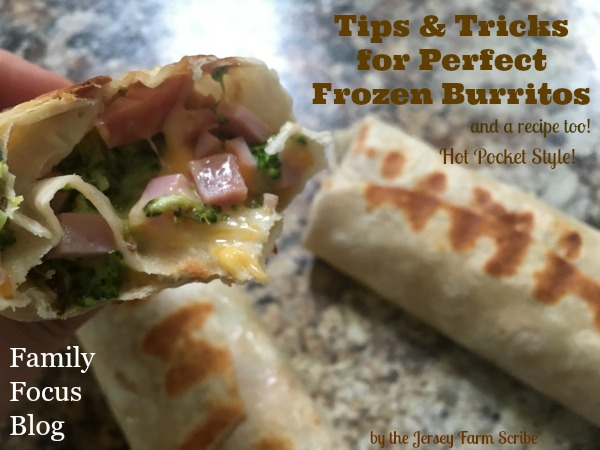 Homemade Frozen Burritos