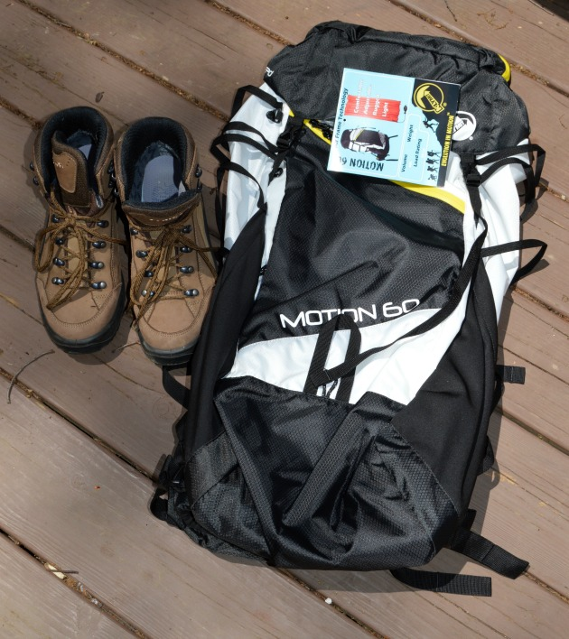 Motion 60 lightweight hiking backpack