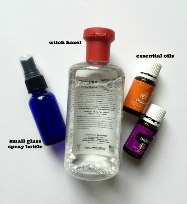 lavender body spray recipe