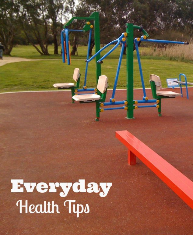 healthy living everyday health tips