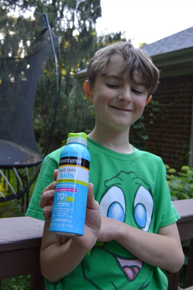 kids sunscreen