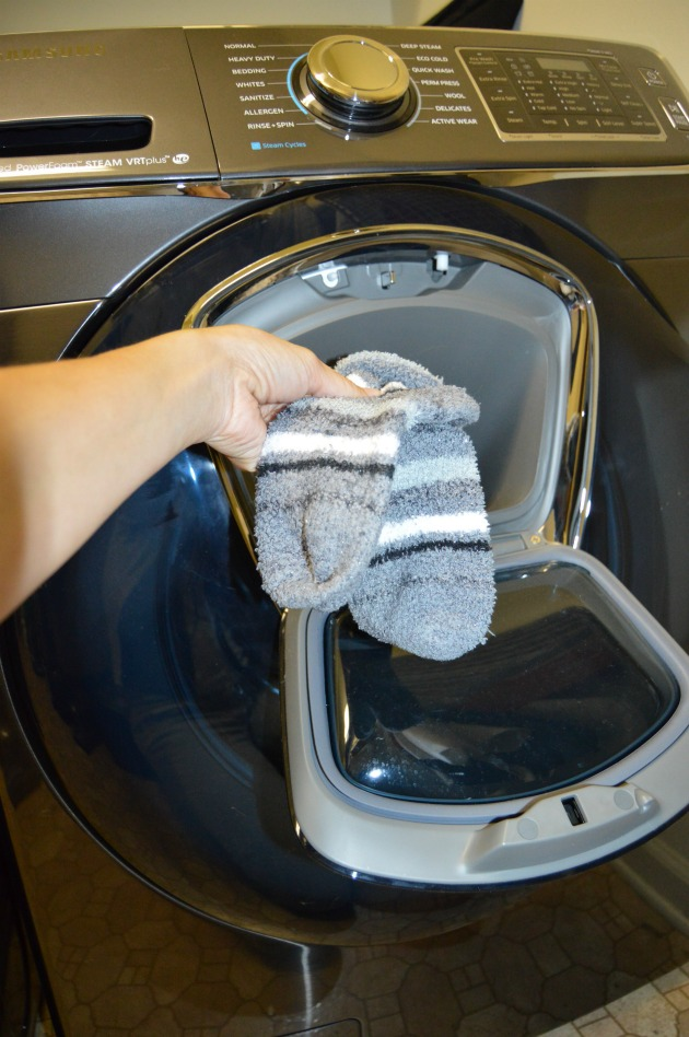 Samsung washer addwash