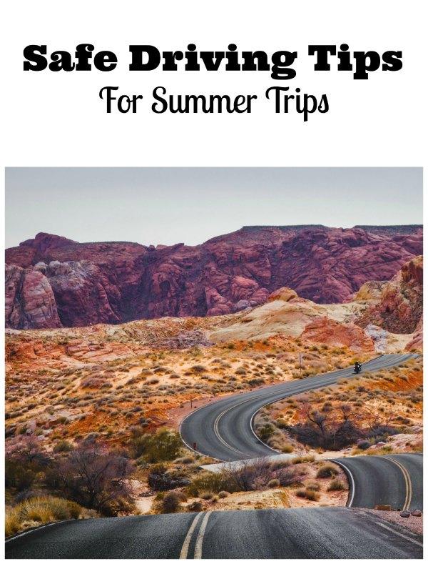 safe driving tips summer