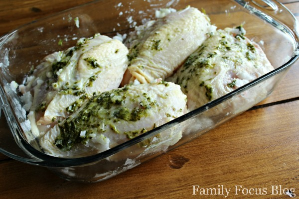 Coconut Basil Lime Chicken