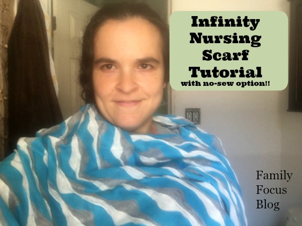 DIY nursing cover