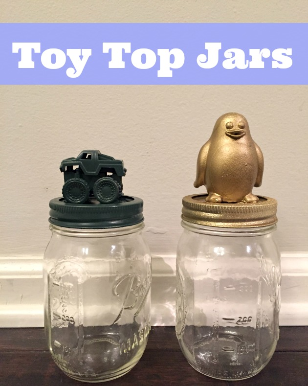 toy mason jar toppers