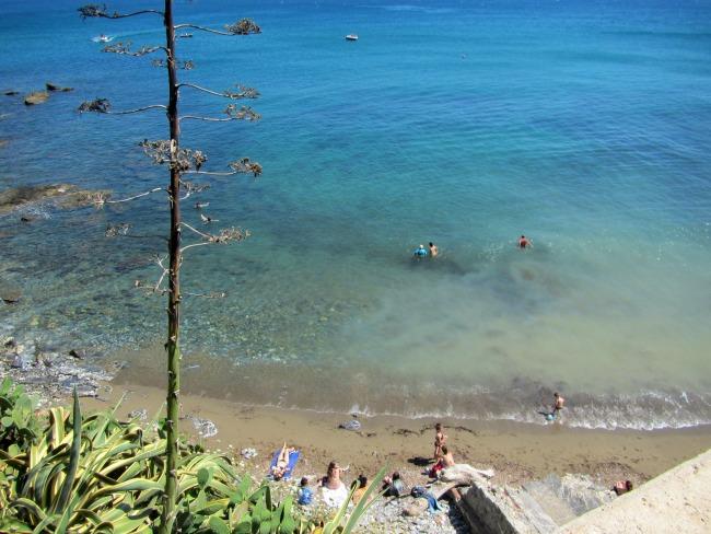 Beach Piombino Italy