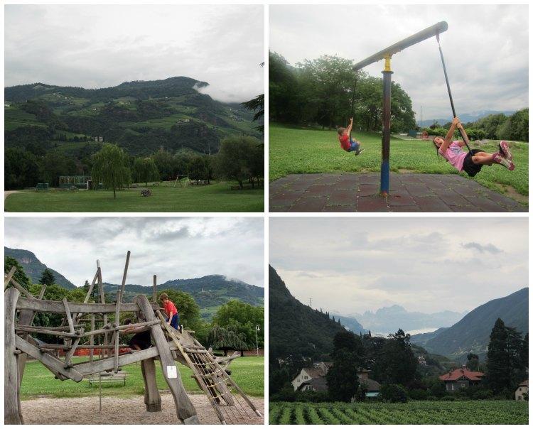 Parco Petrarca Bolzano Italy
