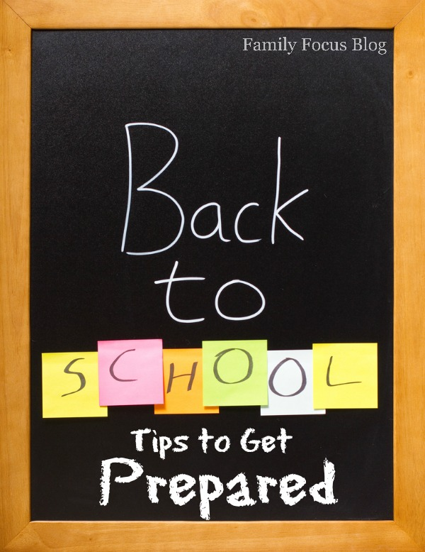 Back to School Tips to Get Prepared