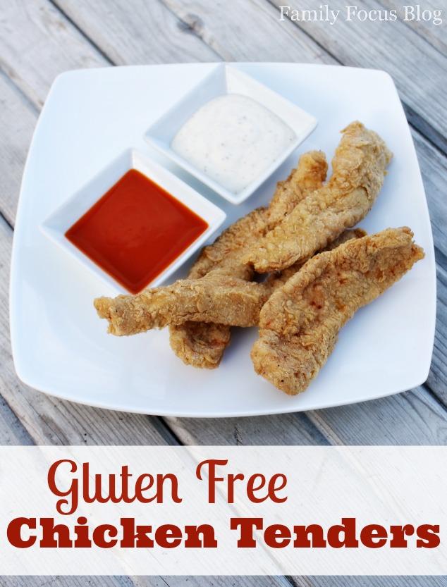 Homemade Gluten Free Chicken Tenders