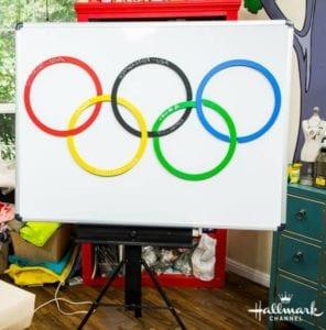 DIY olympics score puzzle
