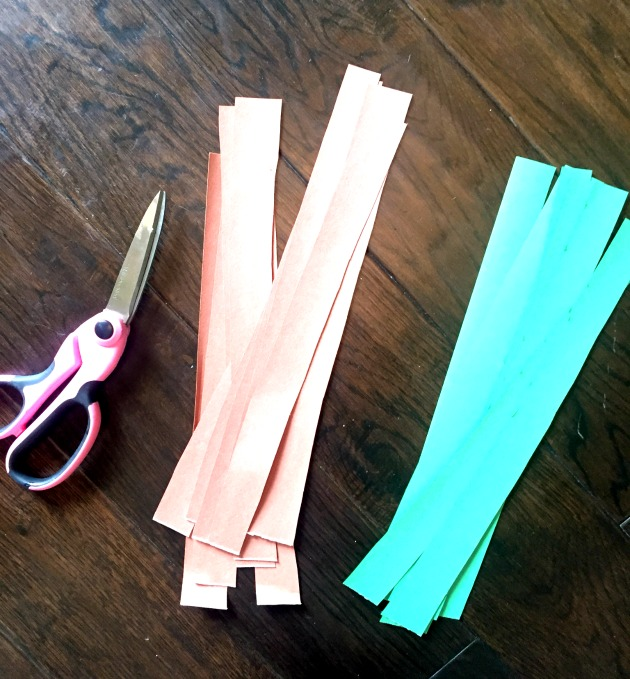 how to make paper chain countdown