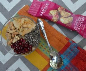 pomegranate-cashew-oatmeal