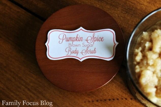 Pumpkin Spice Brown Sugar Body Scrub