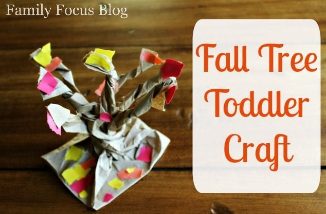 Fall Tree Toddler Craft