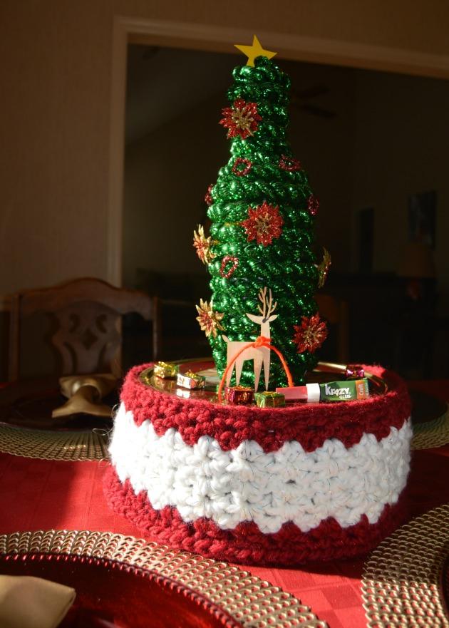 Christmas centerpiece craft