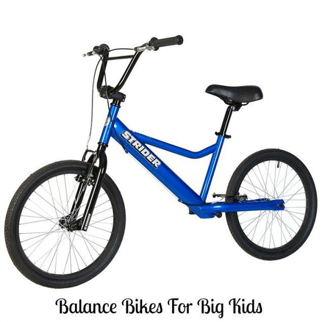 balance bikes for big kids
