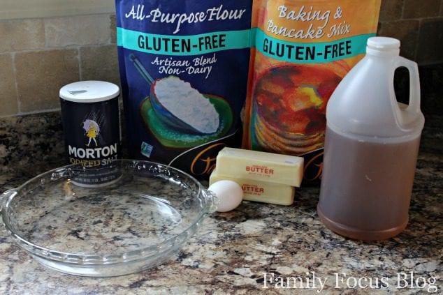 Homemade Gluten Free Pie Crust