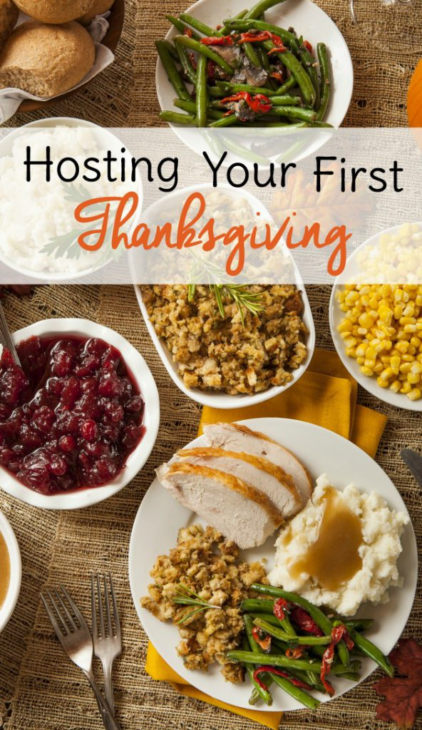 hosting your first Thanksgiving