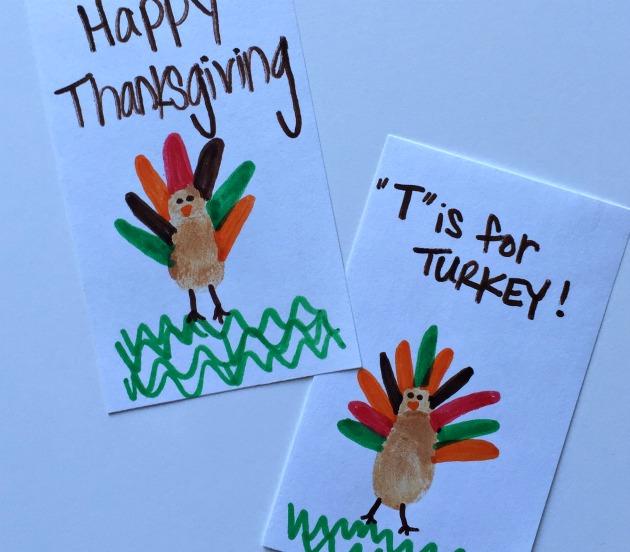 thumbprint turkey magnets