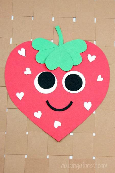 Heart-Strawberry