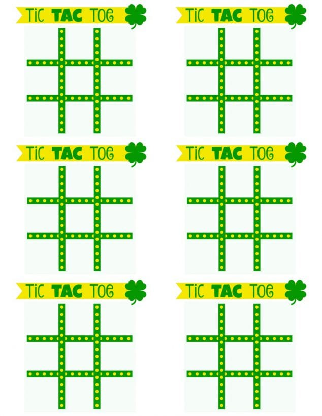 printable tic tac toe board