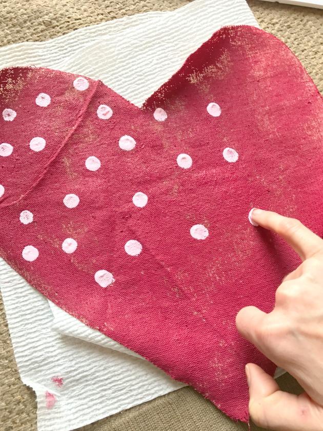 make hanging hearts