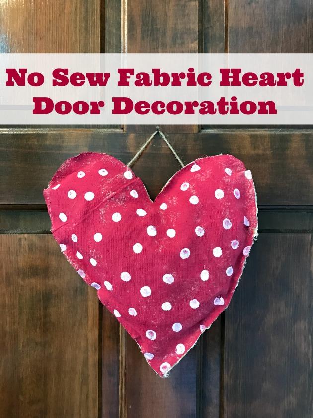 valentine's day door decoration
