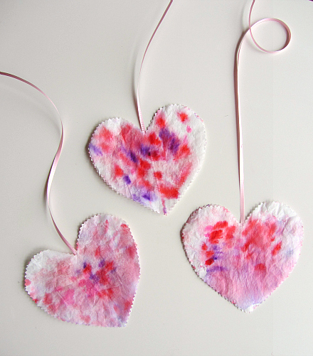 simple heart craft