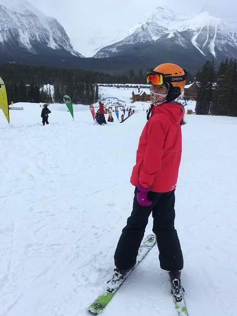 Columbia ski outfit