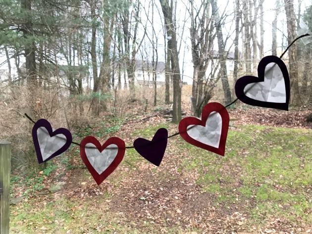 Heart Suncatcher Craft Banner