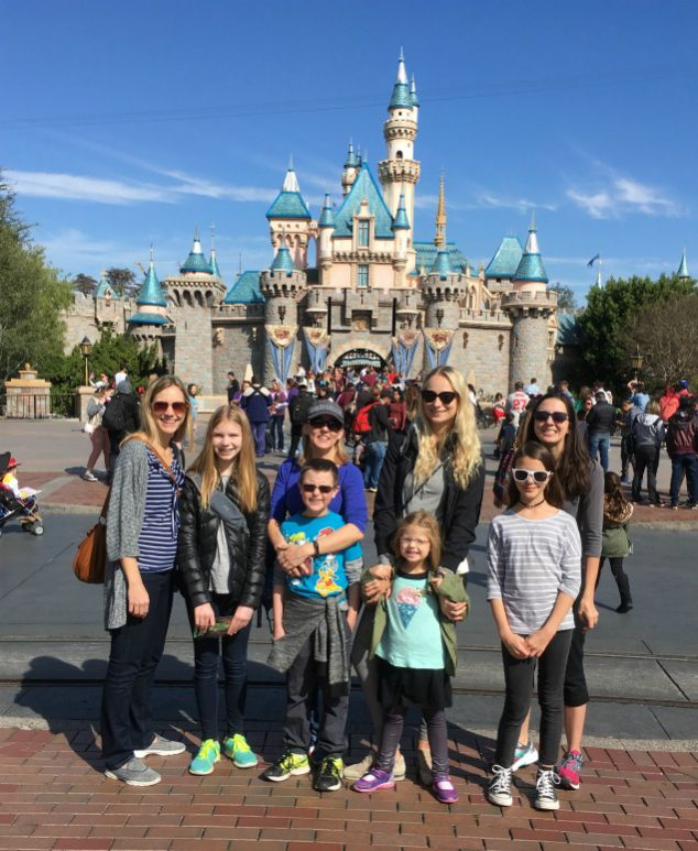 Disneyland with tweens