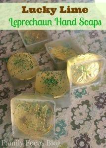 Lucky Lime Leprechaun Soap