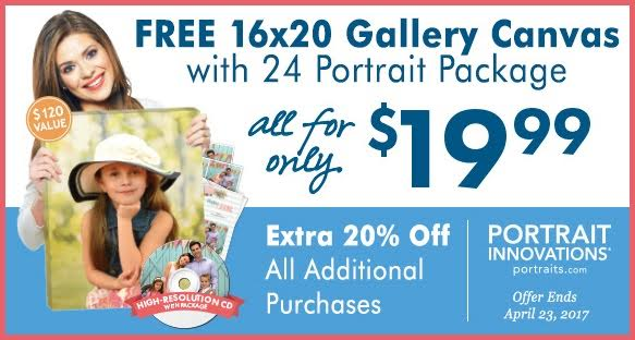 Portrait Innovations Coupon