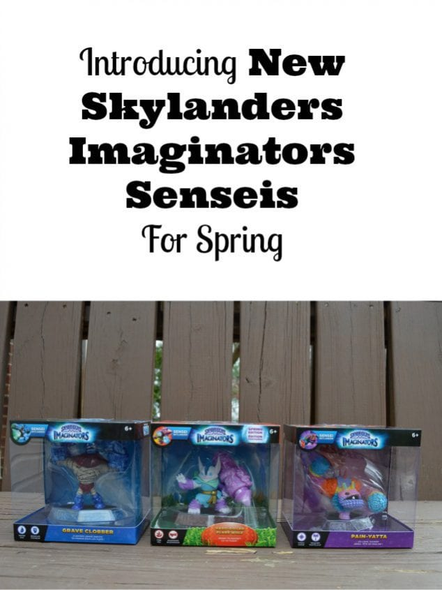 Skylanders Imaginators Senseis