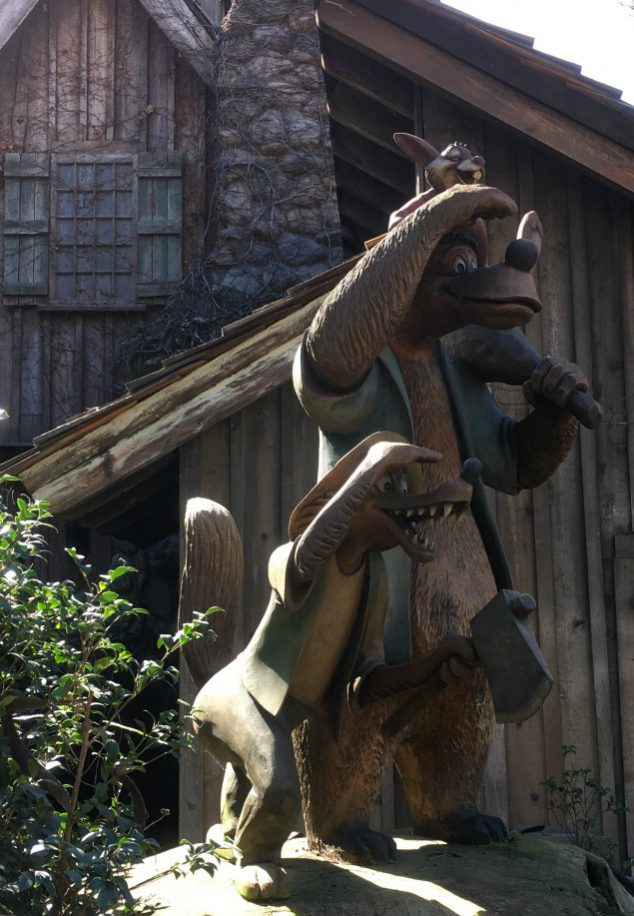 Splash Mountain Briar Fox