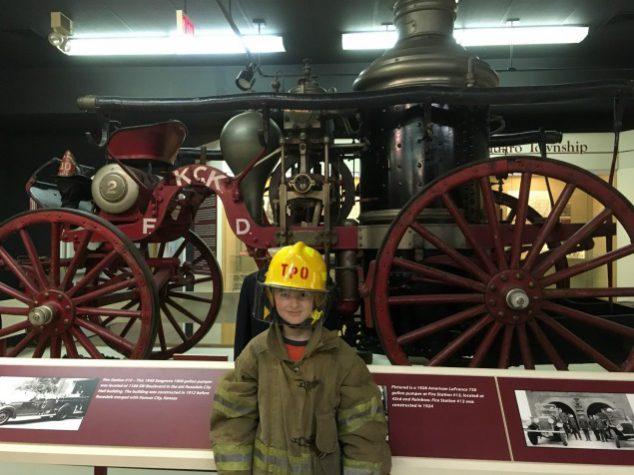 Steam Pumper Fire Engine