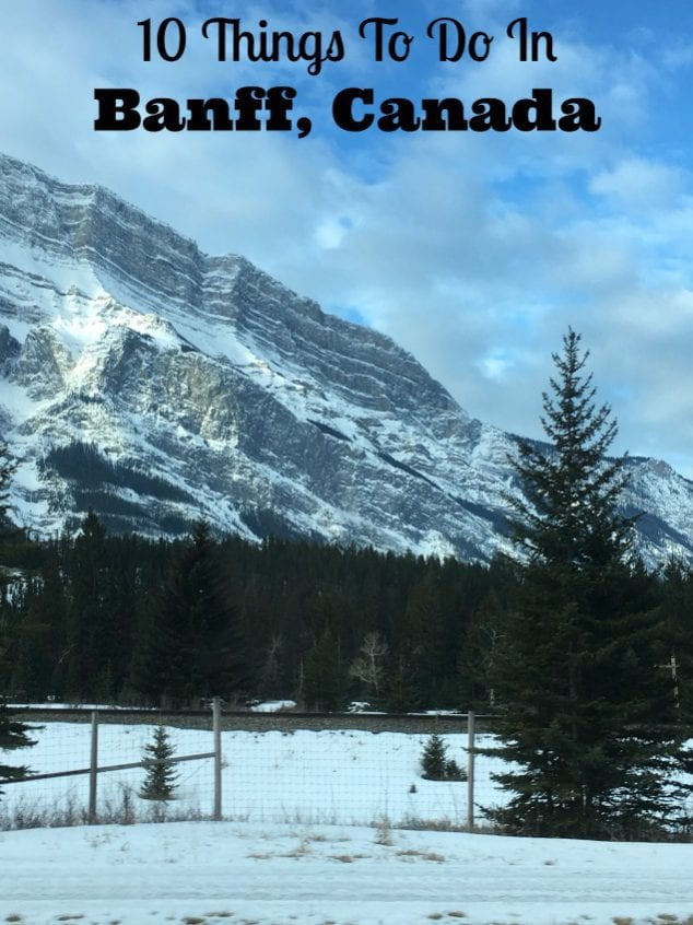 Things To Do Banff