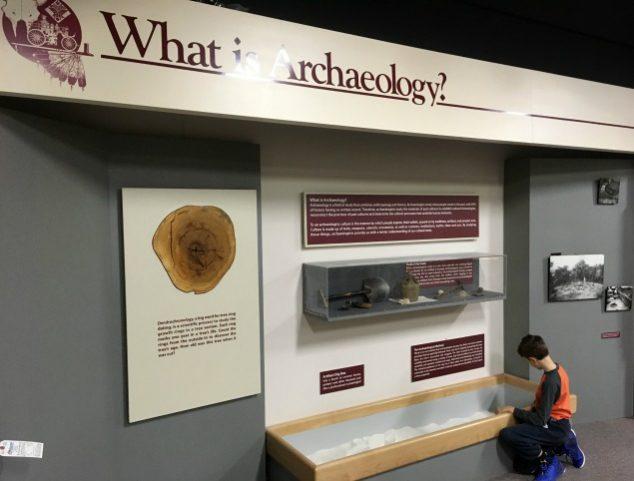 archaeology exhibit
