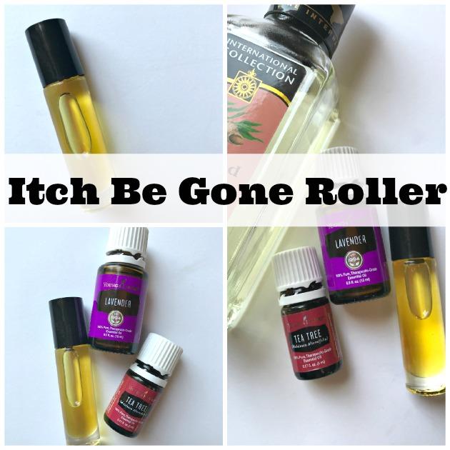 Itch Be Gone Essential Oil Recipe