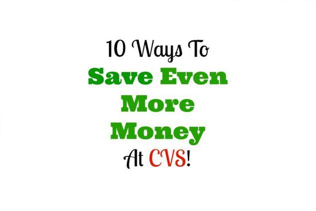 Save Money CVS