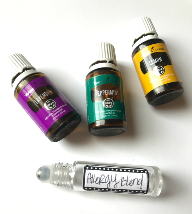 Natural Seasonal Allergy Relief Essential Oils Recipe