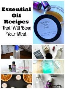 free essential oil recipes