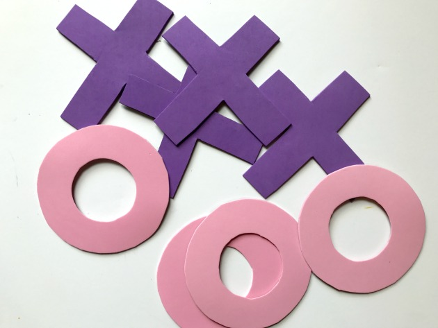 DIY Tic Tac Toe Board Game