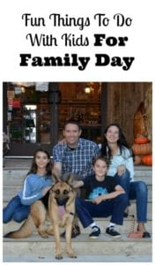 Fun Things To Do With Kids For Family Day