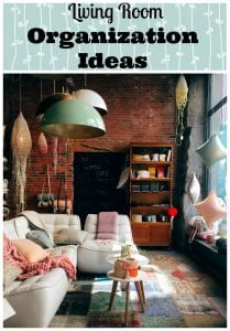 Living Room Organization Ideas