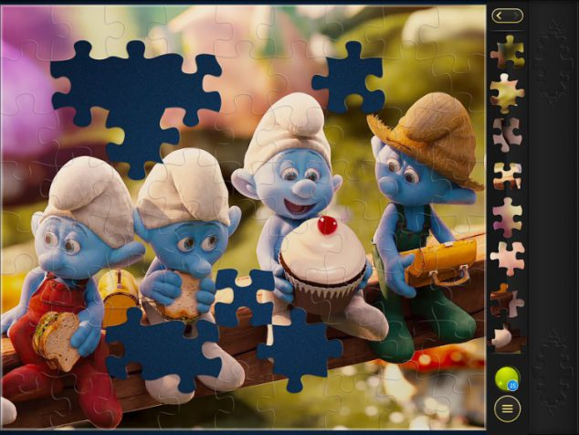 Smurfs puzzle