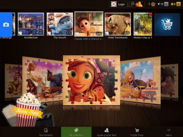 Sony Pictures Puzzles